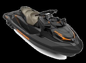 Sea-Doo GTX STD 170 Eclipse Black & Orange Crush 2022
