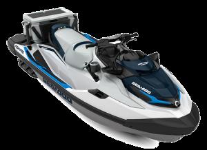 Sea-Doo FISH PRO Sport iDF 170 White / Gulf Stream Blue 2022