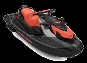 Sea-Doo GTI SE iDF Audio 170 Coral Blast / Eclipse Black 2022