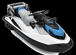 Sea-Doo FISH PRO Scout iDF 130 White / Gulf Stream Blue 2022