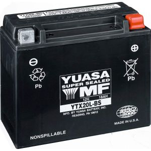 Yuasa YTX20L-BS t.ex. Can-Am / Sea-Doo Batteri Original