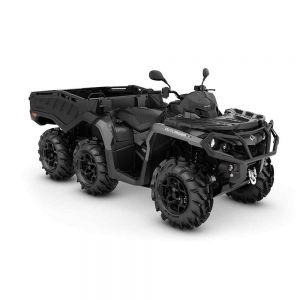 Can-Am Outlander 6X6 XU+ T - Side Wall 1000 2021 Pure Magnesium Metallic T2B - 60km/h