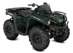Can-Am Outlander XU 570 Tundra Green Terräng 2022
