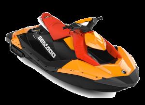 Sea-Doo SPARK 2up STD 60 Orange Crush & Deep Black 2022