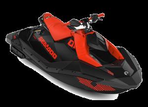 Sea-Doo SPARK 2up IBR Trixx 90 Lava Red & Deep Black 2022