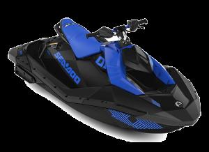 Sea-Doo SPARK 2up IBR Trixx 90 Dazzling Blue / Deep Black 2022