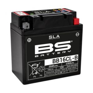 Yamaha BB16CL-B Underhållsfritt batteri
