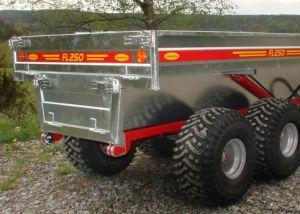 Kranman Dumpervagn FL250