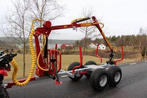 Kranman Griplastarvagn T1650