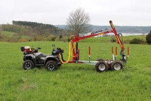 Kranman Griplastarvagn T2000ex