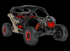 Can-Am Maverick X RS SA Turbo RR 2021 Desert Tan, Carbon Black & Red Terräng - NRMM
