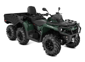 Can-Am Outlander 6X6 MAX XU+ T - Side Wall 650 2021 Boreal Green T2B - 60km/h