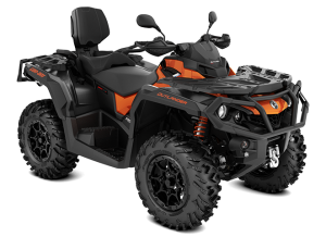 Can-Am Outlander MAX XT-P T 1000 2021 Phoenix Orange & Carbon Black T3B