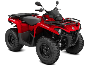 Can-Am Outlander STD T 450 2021 Viper Red T3B - 60km/h