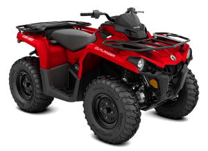 Can-Am Outlander STD T 570 2021 Viper Red T3B - 60km/h