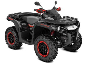 Can-Am Outlander X XC T 1000 2021 Black, Hyper Silver &  Red T3B