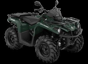 Can-Am Outlander XU 570 2021 Tundra Green Terräng