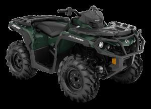 Can-Am Outlander XU 650 2021 Boreal Green Terräng