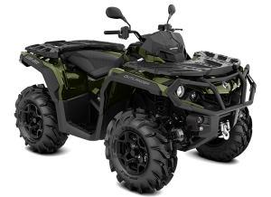 Can-Am Outlander XU+ T 650 2021 Boreal Green T3B - 60km/h
