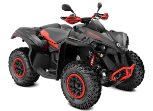 Can-Am Renegade X XC T 1000 2021 Black &  Red T3B