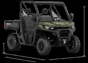 Can-Am Traxter XU T HD8 2021 Green T1B - 60km/h