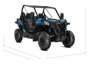 Can-Am Maverick Trail DPS T 1000 2021 Octane Blue T2B