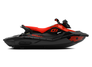 Sea-Doo SPARK 3up IBR Trixx 90 Lava Red & Deep Black 2021