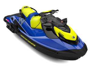 Sea-Doo WAKE STD 170 Malibu Blue & Neon Yellow 2021
