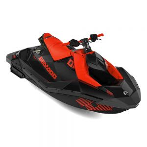 Sea-Doo SPARK 2up IBR Trixx 90 Lava Red & Deep Black 2021